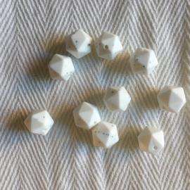 Kleine icosahedron - wit dalmatier