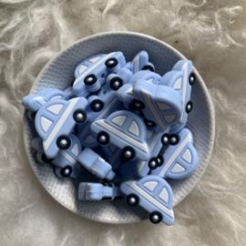 Auto kraal - zacht blauw 2