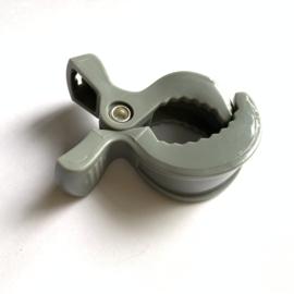 Speelgoed clip - grijs