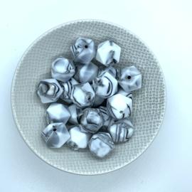 Kleine icosahedron - zebra marmer