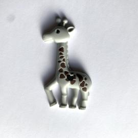 Giraffe - licht grijs