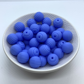 15mm striped - china blue