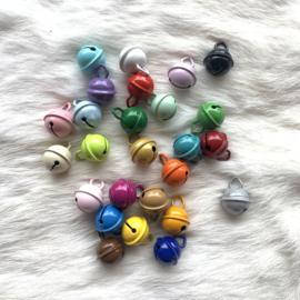 Gekleurde belletjes 15mm