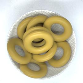 Donut ring - oker bruin