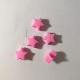 Kleine ster - roze