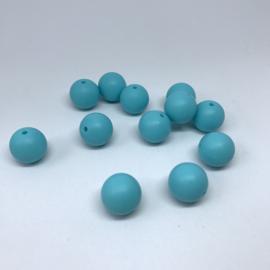 15mm - aqua blauw