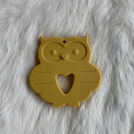 Uil - mosterd geel