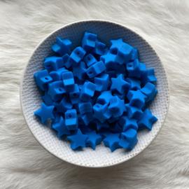Kleine ster - jeans blauw
