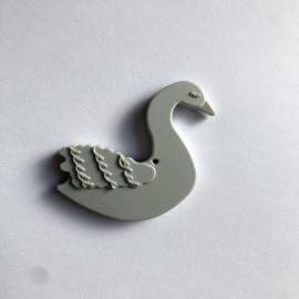 Zwaan - licht grijs