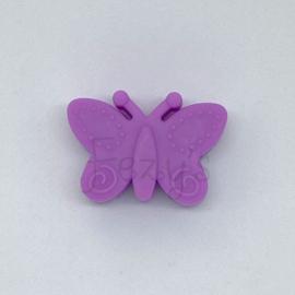Vlinder kraal - paars