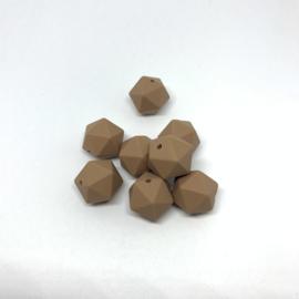 Icosahedron 17mm - Camel