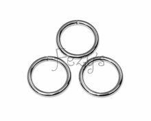 O-ring metaal 25mm - zilver