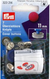 Stofknopen 11mm Prym