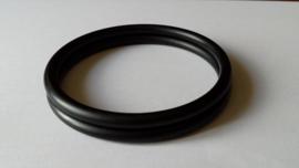 Slingrings size S - matte black