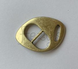 Schuifgesp armband - brons