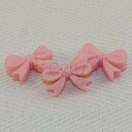 Strikje - licht roze