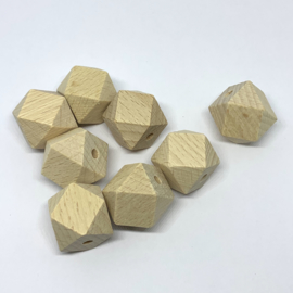 Houten hexagon - 20mm (beuk)