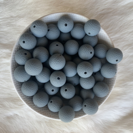 15mm lederlook - donker grijs