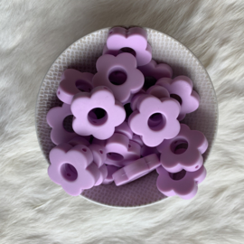 Rond bloemetje - lavendel
