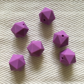 Icosahedron 22mm - purple