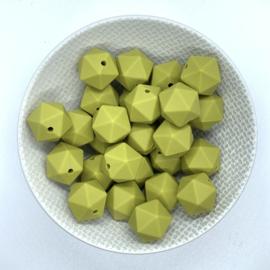Kleine icosahedron - mosgroen