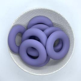 Donut ring - donker lila