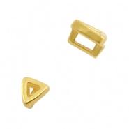 Schuiver - driehoekje goud