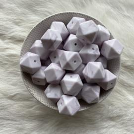 Hexagon - marmer antiek paars