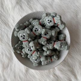 Hondjes kraal - grijs