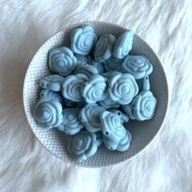Kleine bloem -  oud blauw