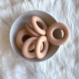 Donut ring - perzik