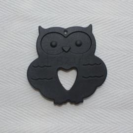Owl - black