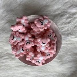 Beren kraal - licht roze