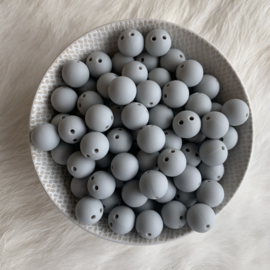 Safety bead 12mm - ice grey
