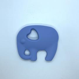 Olifant - licht poeder blauw