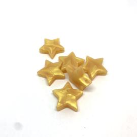 Ster M - parelmoer goud