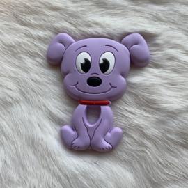 Dog teether - pale purple