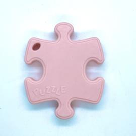 Puzzelstukje - rozekwarts
