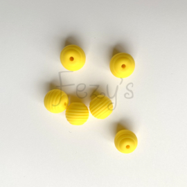 15mm striped - yellow