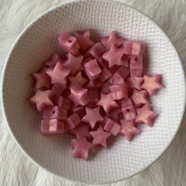 Kleine ster - rosé goud parelmoer