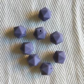 Kleine icosahedron - donker lila