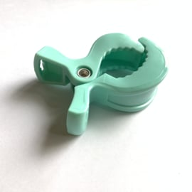 Speelgoed clip - mint