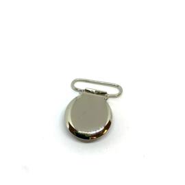 Speenclip metaal - zilver 20mm