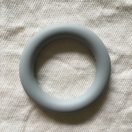 Silicone ring - light grey