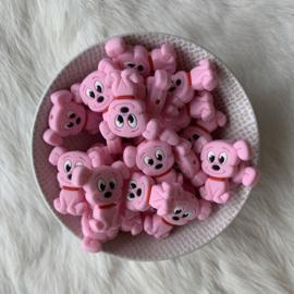 Hondjes kraal - baby roze