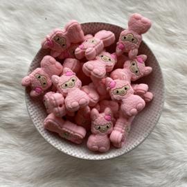 Happy llama kraal - licht roze
