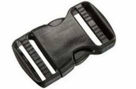 Side release buckle (dual adjustable) 25mm