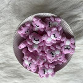 Beren kraal - baby roze