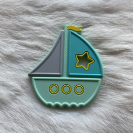 Boat teether - mint