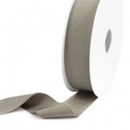 Ibiza lint - metallic taupe 25mm breed